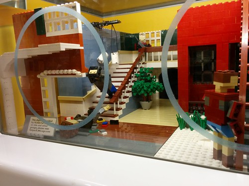Display at Lego Store