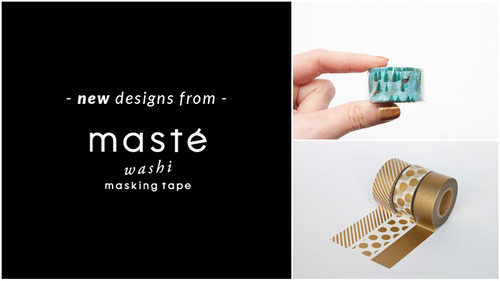 new maste washi tapes