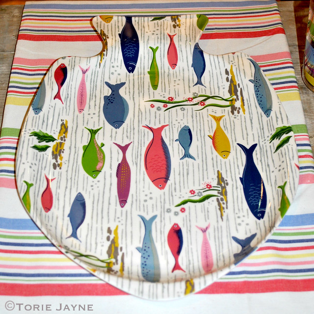 Cath Kidston fish platter