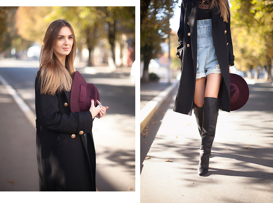 black-maxi-coat-outfit-street-style-thigh-high-boots