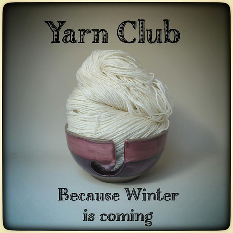 Yarn Club: January – March 2015