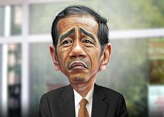 Joko Widodo - Caricature
