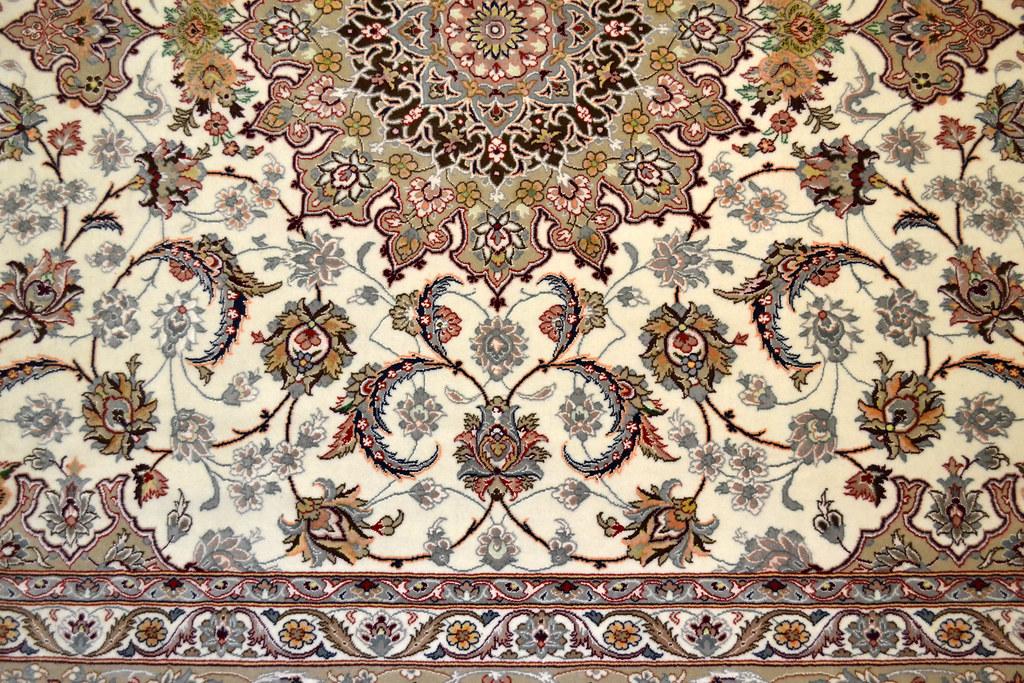 Isfahan Fine 7x10 persian Area Rug Earth Tone Color (5)