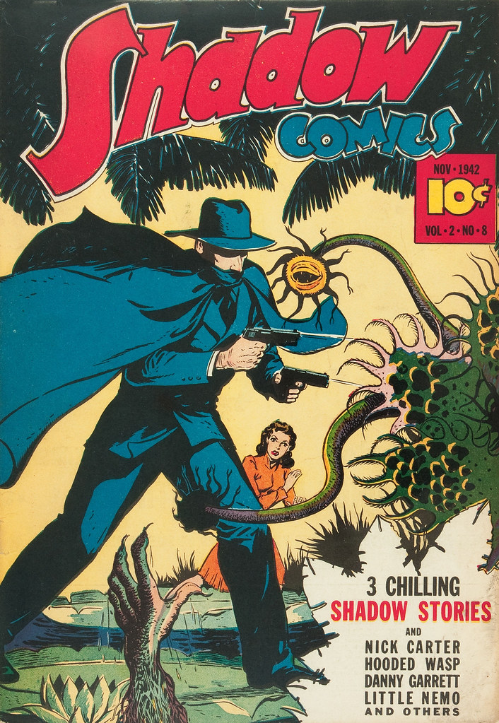 Shadow Comics V2#8 Mile High pedigree (Street & Smith, 1942)