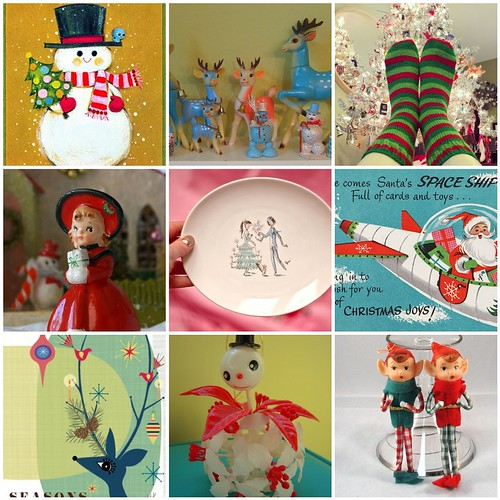 friday Funspiration: vintage christmas