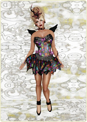 Gothmas by Gaslight 2014 - Dark Water Designs - SugarPunk Fairy set