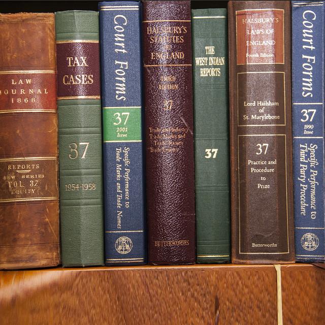 37 Law Books
