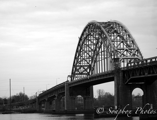 """Tacony Palmyra Bridge from Tacony Palmyra Nature Cove"""
