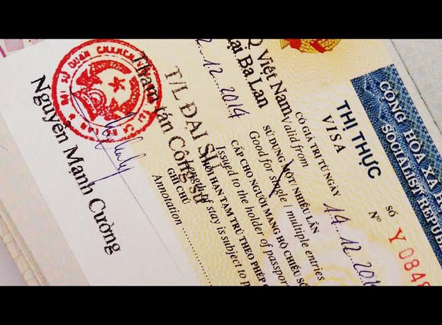 Vietnamese visa: got!