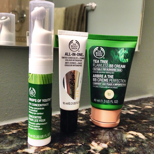 Body Shop Facial Products
