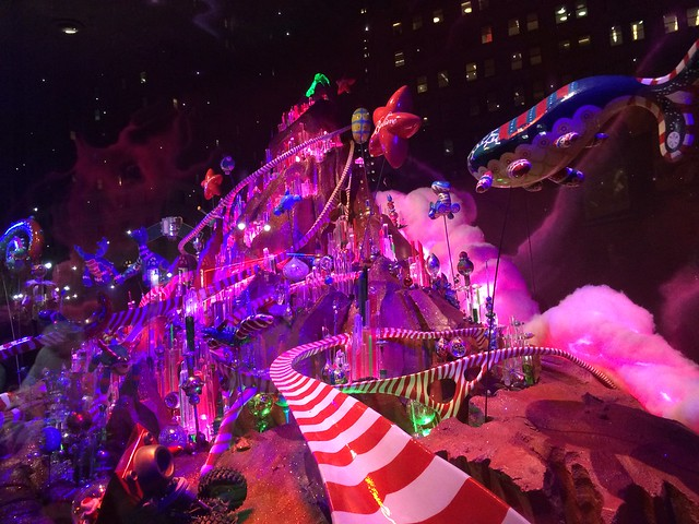 Macy's Holiday Window Display 2014