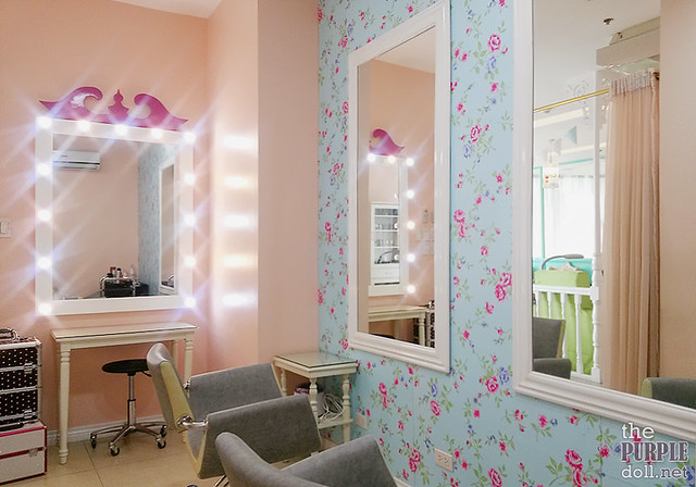 Beauty Lounge at Make Me Blush Quezon City