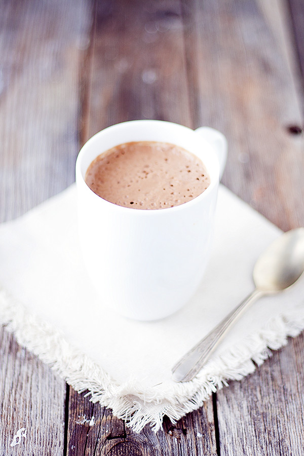 rich and creamy hot cocoa |  non-dairy