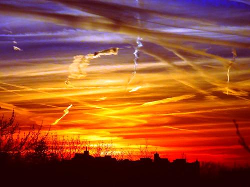 sunset newyork brooklyn image dmitriyfomenko fall92014