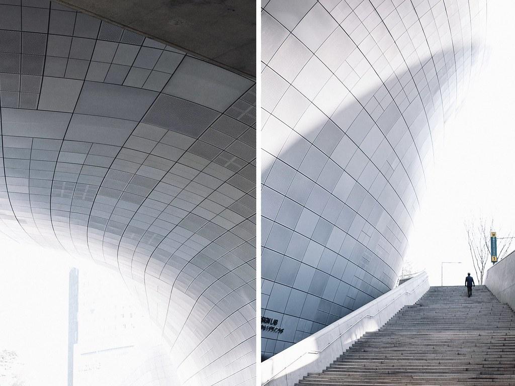 Địa điểm sống ảo tại Seoul - DDP