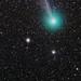 Comet C/2014 Q2 (Lovejoy) + Globular Cluster M79 by νesko