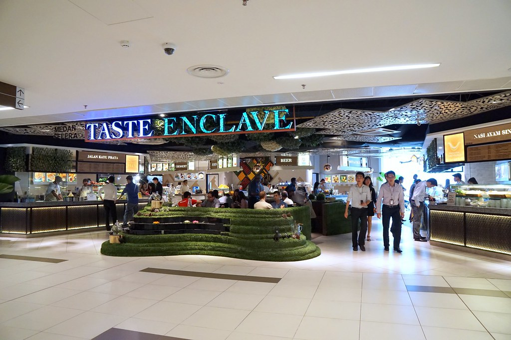 Avenue K foodcourt - Taste Enclave - Review
