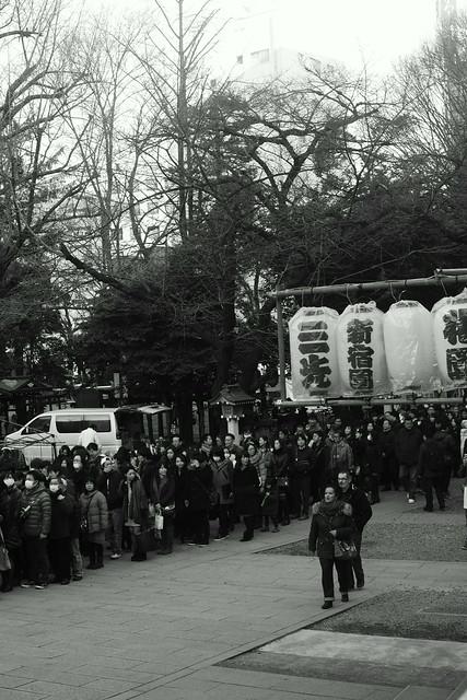 新宿劣化 - Hanazono Jinja shrine, Shinjuku Tokyo, 04 Jan 2015. 017