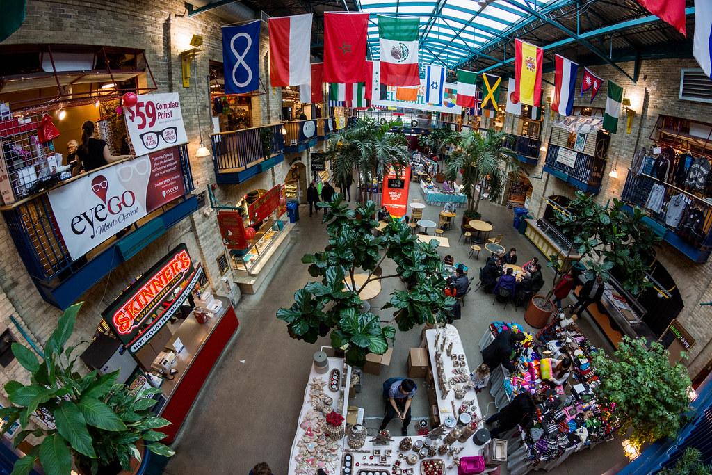 The Forks Market Winnipeg
