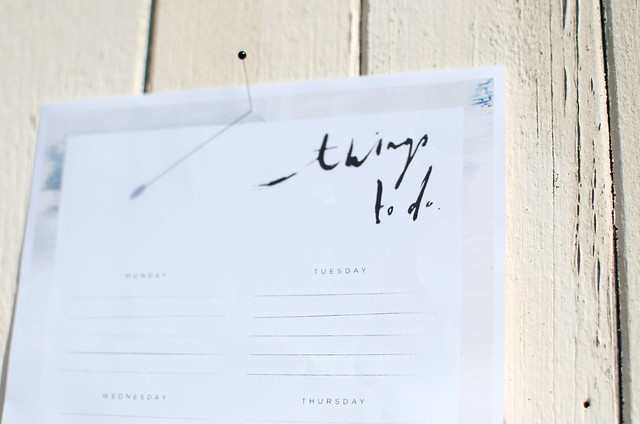 DIY PRINTABLE TO DO LIST