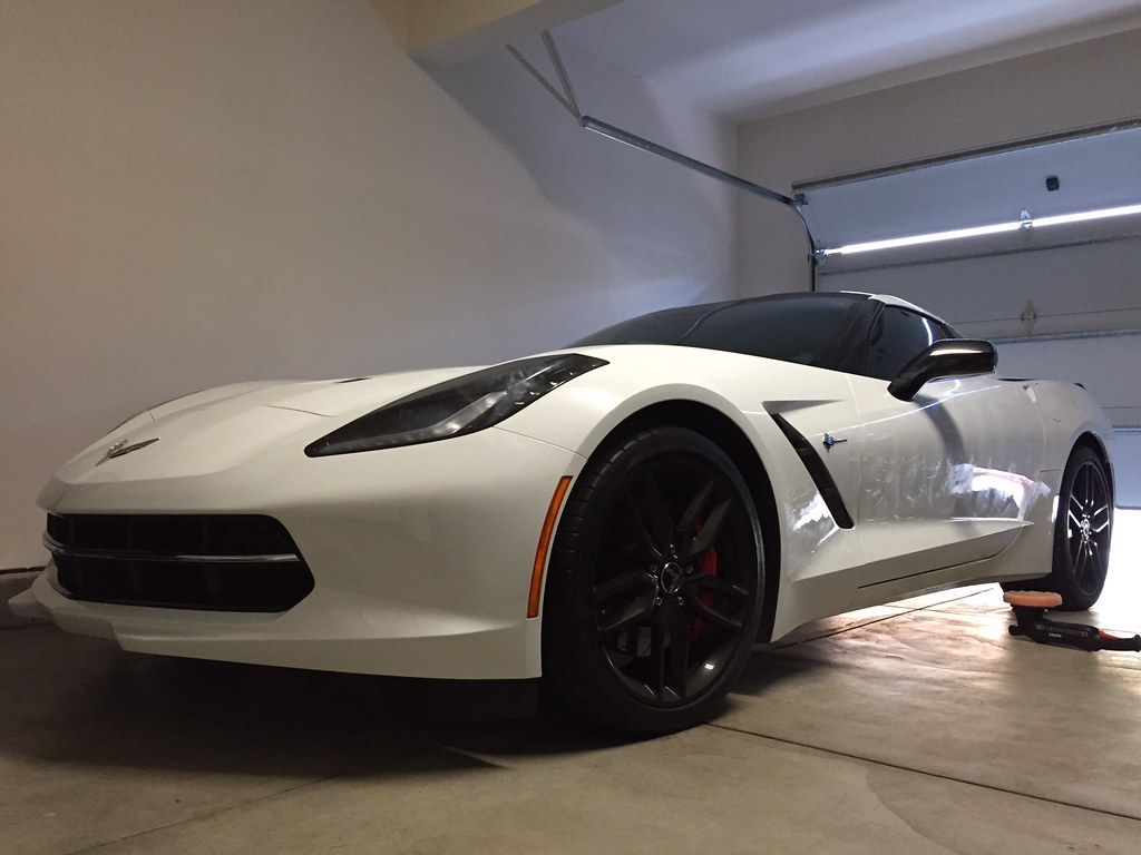 2015 Corvette C7 Stringray Z51: Paint Correction and Ceramic