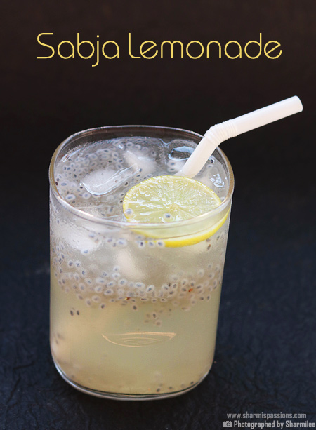 How to make sabja seeds lemonade  - Step4