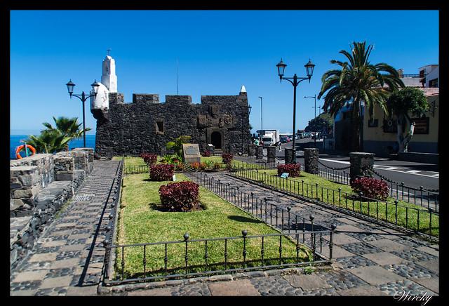 Garachico roque piscinas naturales caleton - Castillo de San Miguel