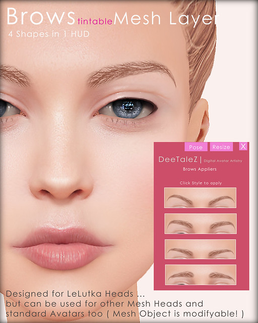 DeeTaleZ Mesh Layer Brows