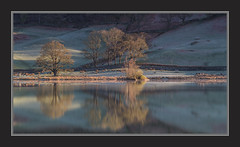 Sun and Frost on Rydal Water