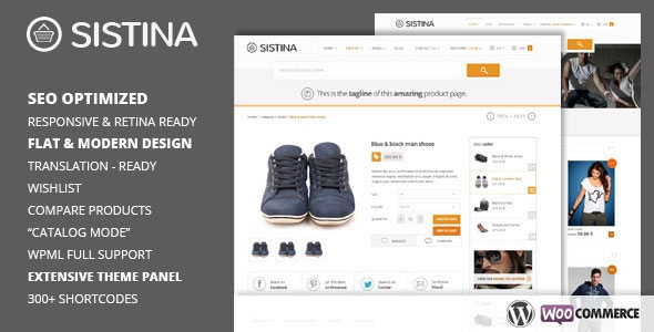 Sistina v2.1.0 – Flat Multipurpose Shop Theme