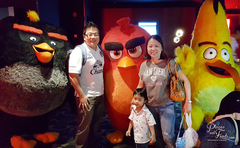 mcD angry birds screening placesandfoods
