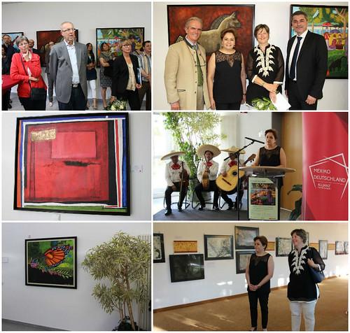 """Inauguración de la exposición """"Miradas del Alma""""de la Fundación John-Langdon-Down"""