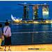 Blue Hour @ Singapore Marina Bay