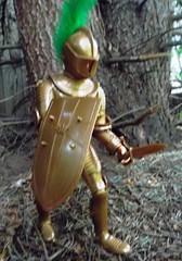 Sir Gordon with Short Sword.