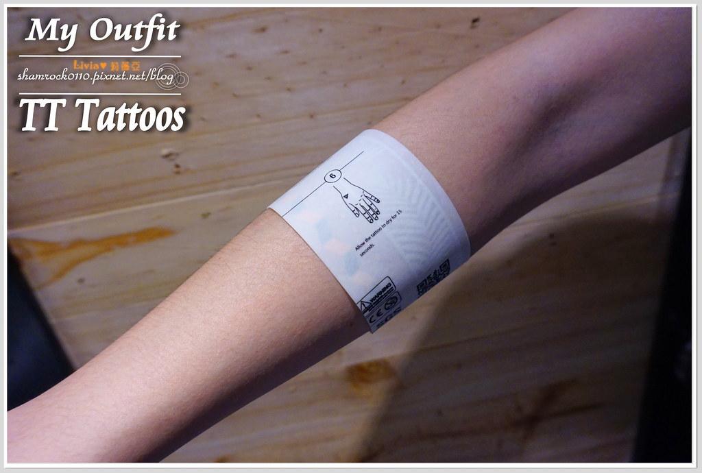 TT Tattoos金屬紋身貼 - 09