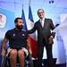 1er sept - Visite F.Hollande au siège du CPSF