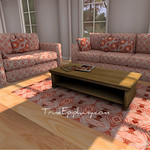 Lily Living Room 3D Models