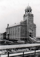 New St. Anne's Catholic Church almost finished 1921