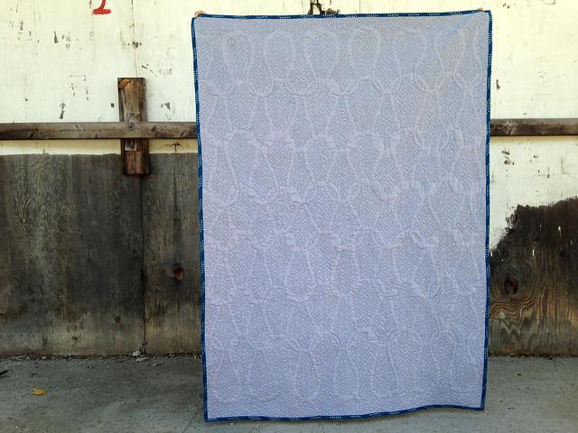 quilt back texture