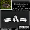 Tool Shed - Fireplace Logs Mesh Kit Ad
