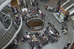 Opening of the new Fulton Center Transit Hub