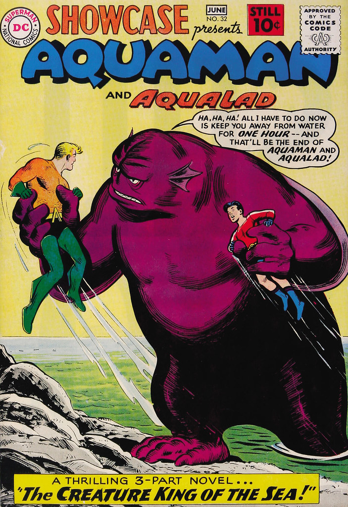 Showcase #32 Aquaman and Aqualad (DC, 1961) Nick Cardy Cover
