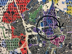 pattern, map, design,