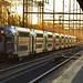 NJ Transit Train  - Metuchen Station by Camera-junkie