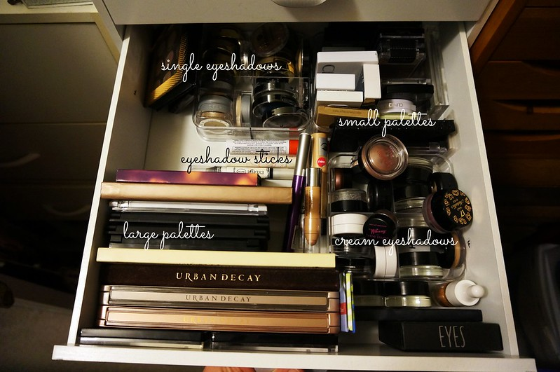 Affordable Makeup Storage Organization