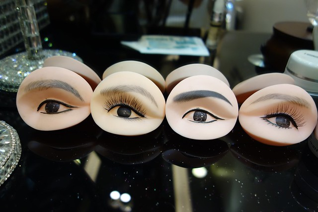 Type of brow designs samples.
