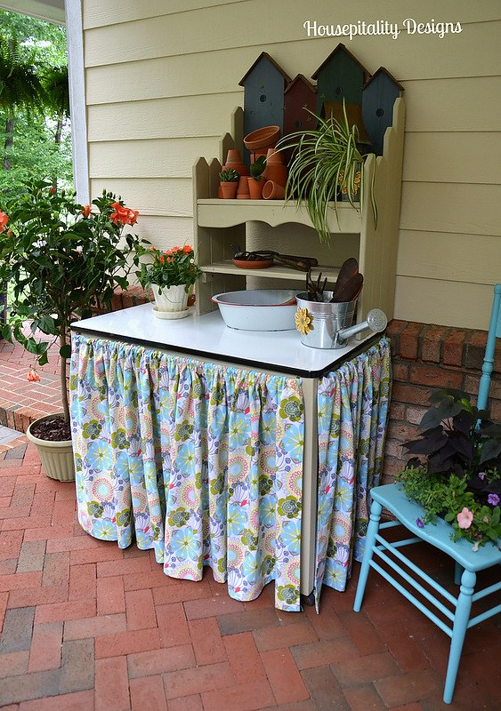 Potting Bench-Housepitality Designs