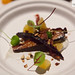 Roasted carrots, burnt honey, yogurt & almonds by Little Prince
