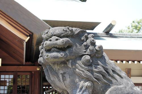 石浜神社-狛犬