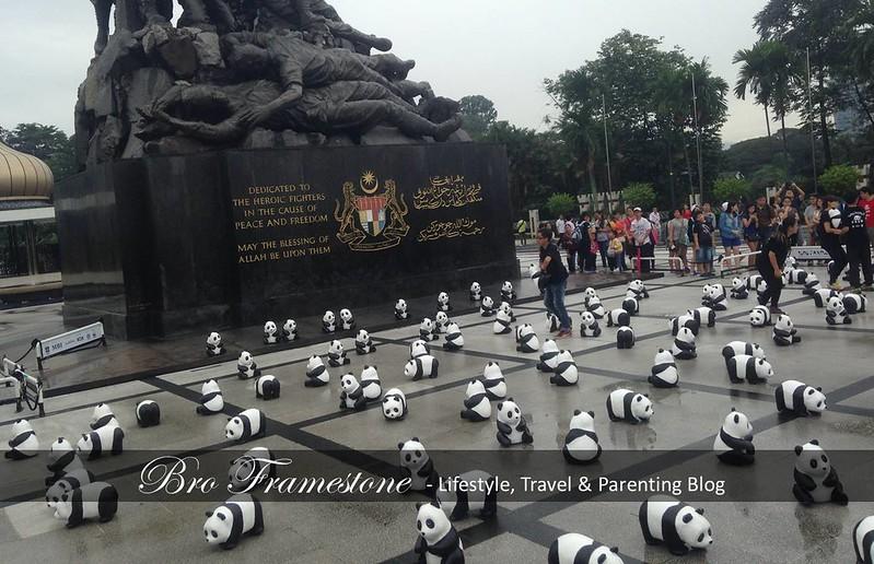 Tugu Negara - 1600 Pandas Malaysia